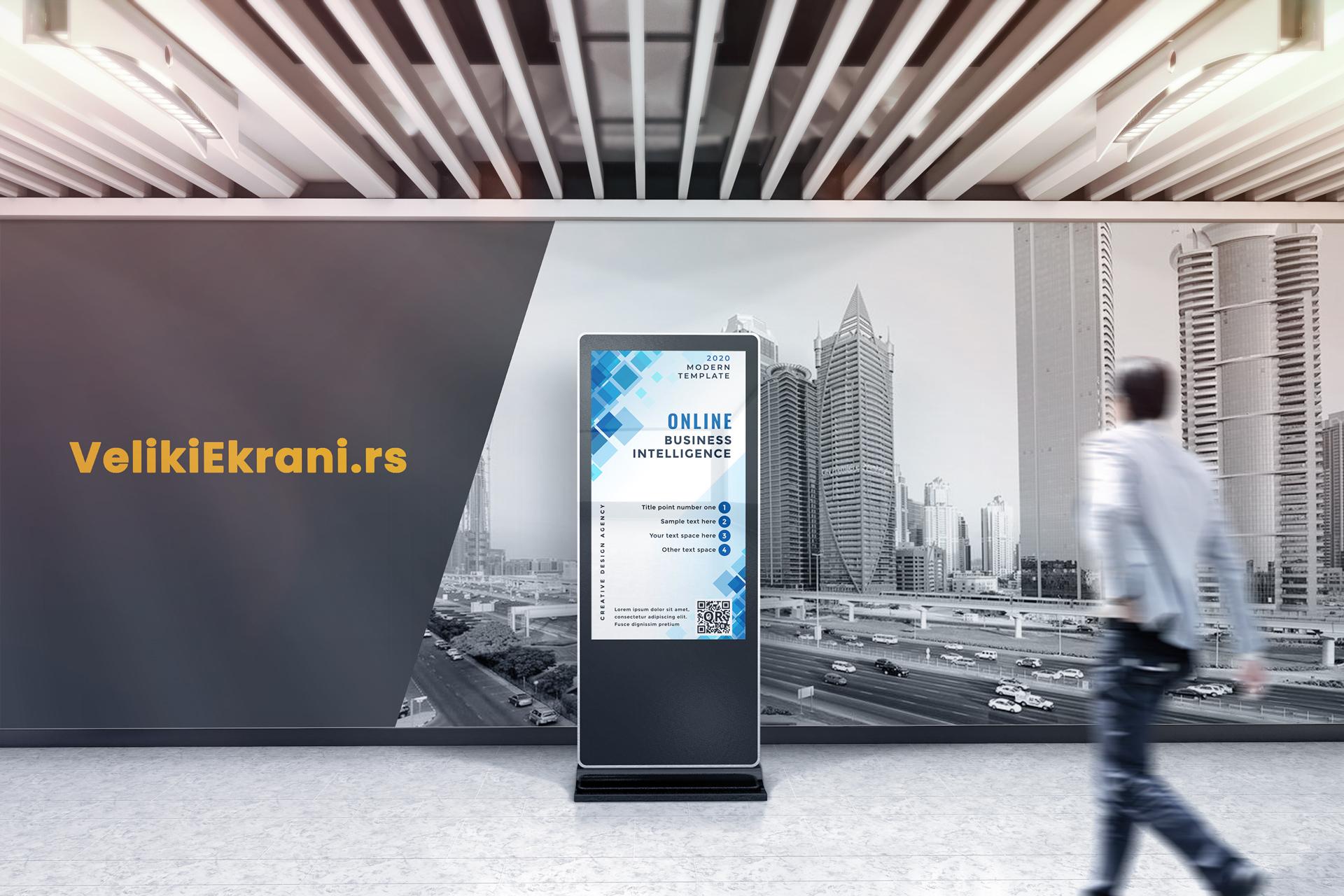 Digital signage - primena